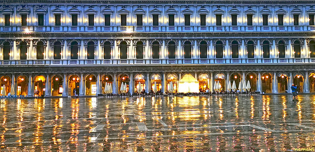 Reflections in San Marco