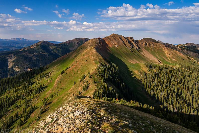 Elliott Mountain Summit View