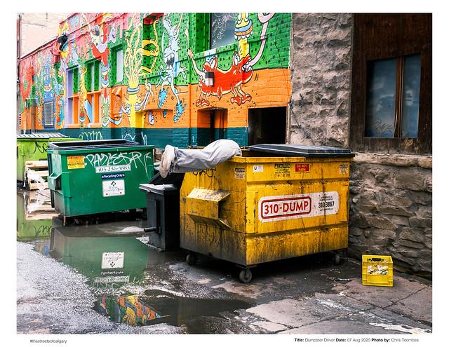Dumpster driver