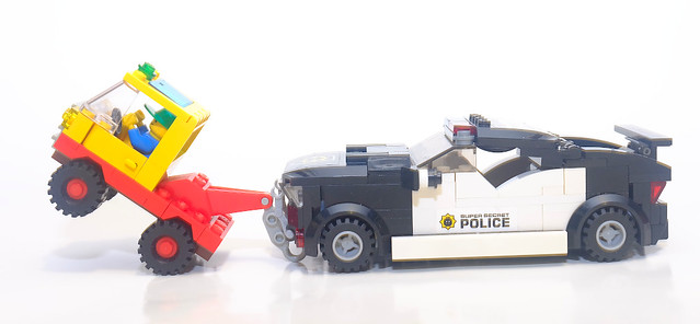 TOW TRUCK : I THOUGHT I COULD !
