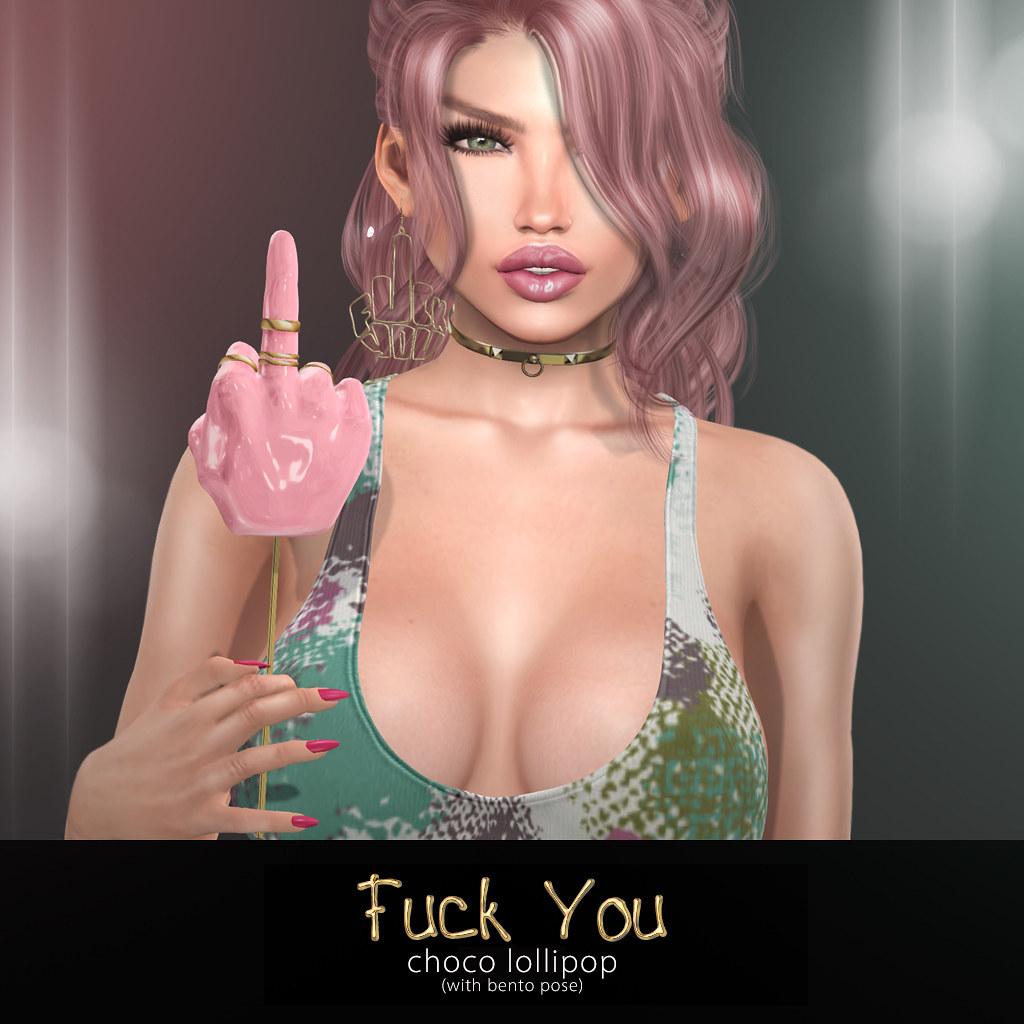 Fuck You lollipop