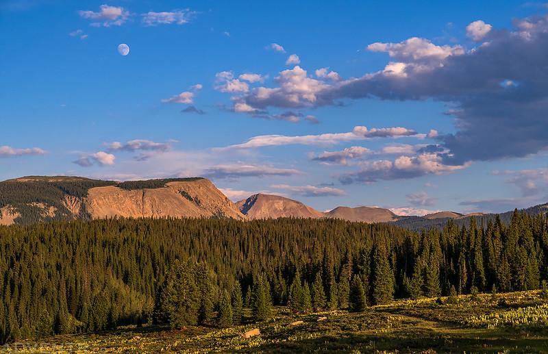 Flattop Mountain & Hermosa Peak