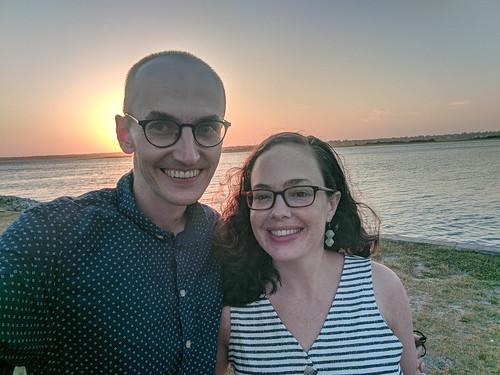 beach sunset topsailisland