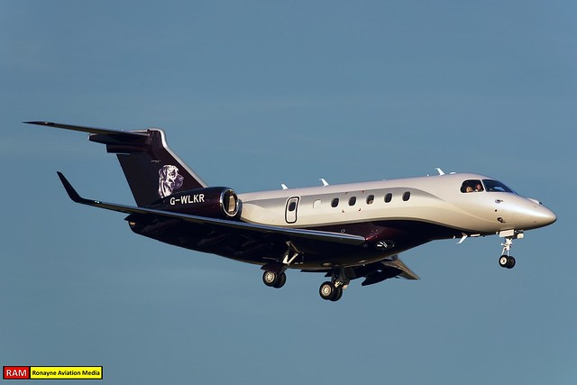 G-WLKR | Embraer Legacy 500 | Air Charter Scotland