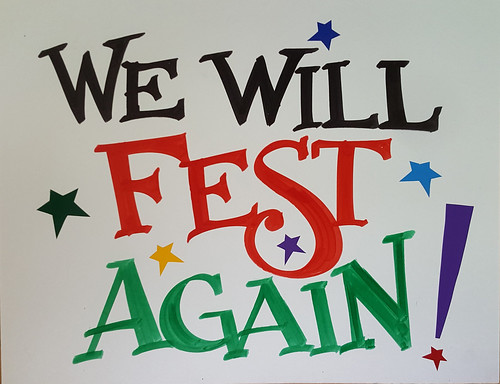 We Will Fest Again - Nan Parati