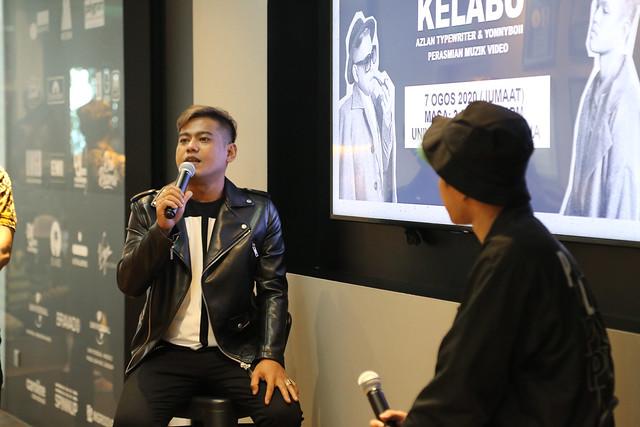 KELABU Muzik Video Artis Malaysia Pertama Guna First Person View Racing Drone