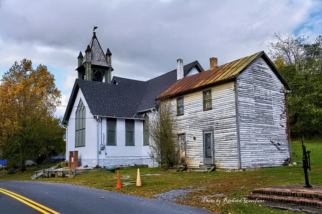 The Shiloh Baptist Church in Millwood, VA
