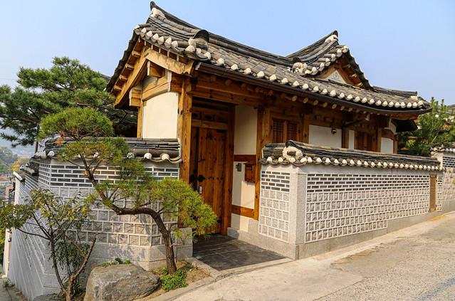 Traditional Korean Hanok