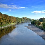 Scenic River Ribble at Preston
