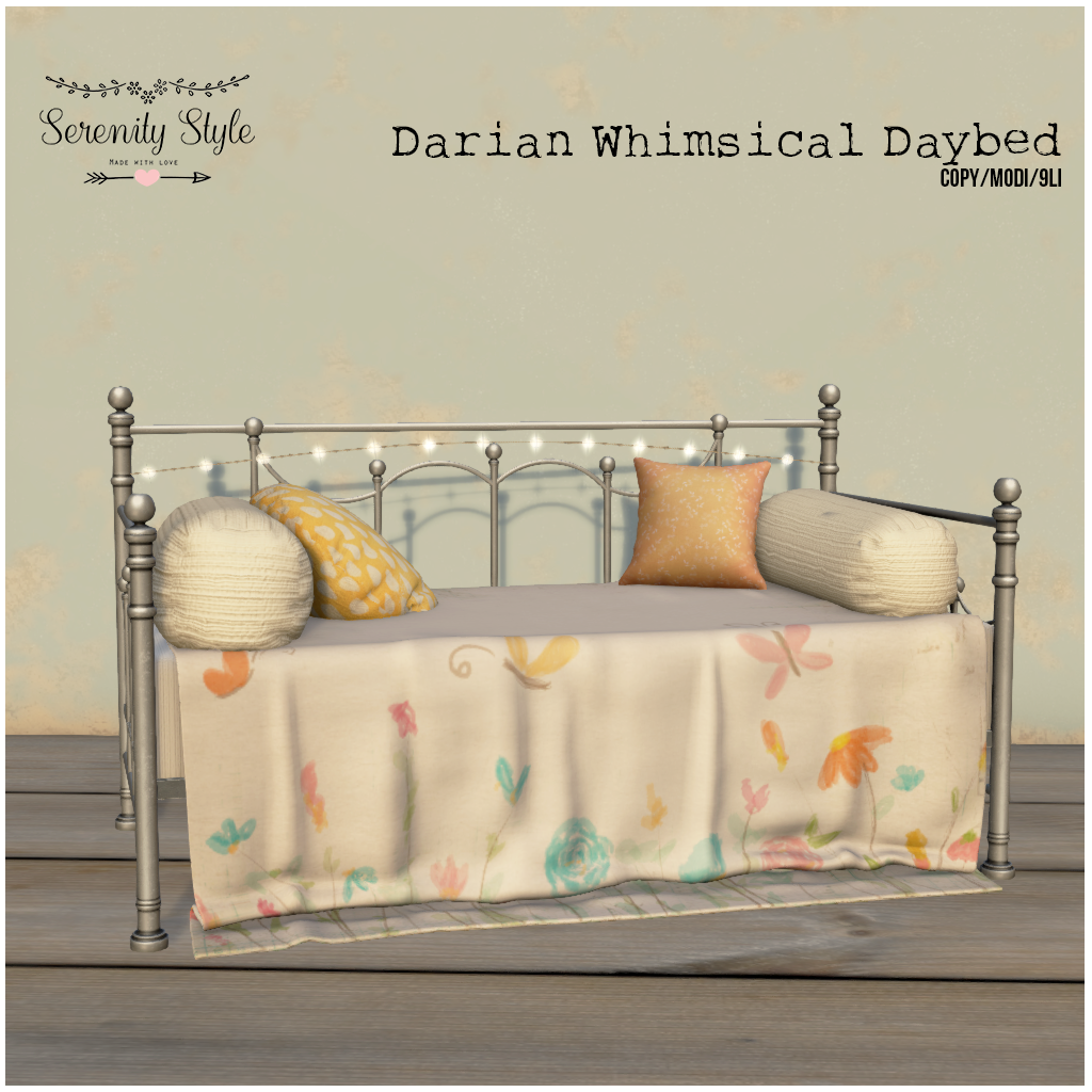 Serenity Style-Darian Whimsical Daybed