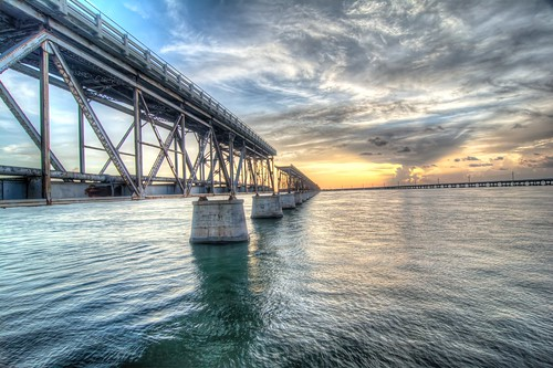 bahiahonda florida statepark water keywest sunset bridge sky thunderstorms