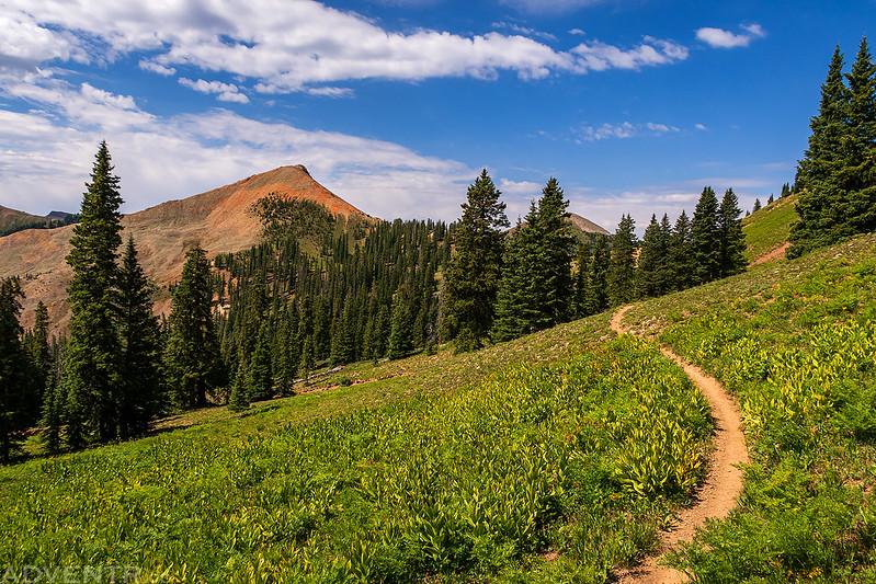 To Calico Peak