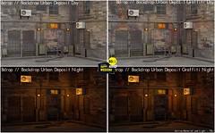 Bdrop //  Backdrop Urban Deposit Set