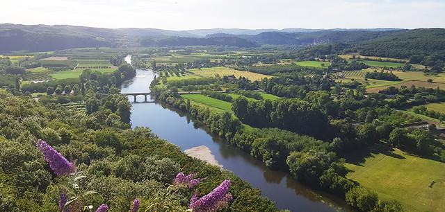 Panorama de Domme vallée de la Dordogne 20200707_183721