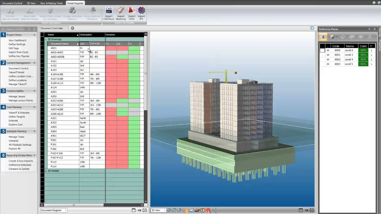 Working with Trimble Vico Office 4.7 MR1 full