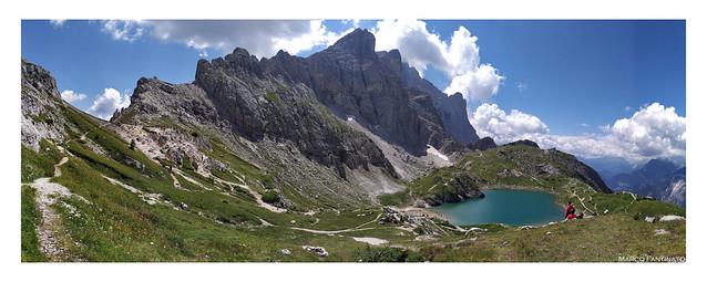 Dolomiti, lago di Coldai