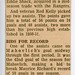 3 Bathe Park news clipping with Robert T Bell reverse side 410