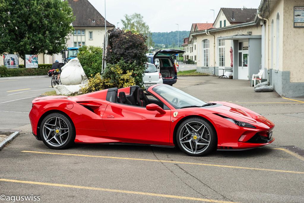 Ferrari F8 Spider Aguswiss1 Flickr