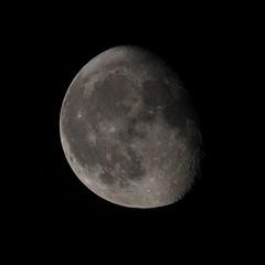 Mond unfertig