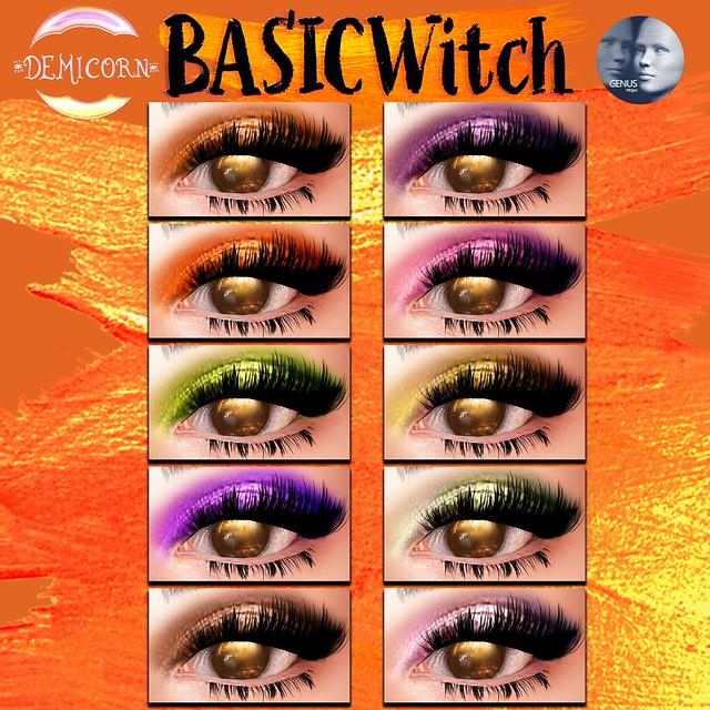 {Demicorn} Basic Witch Eyeshadows - Genus AD