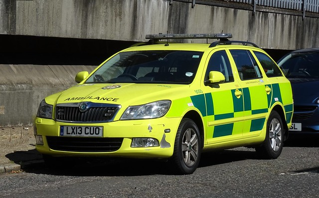 London Ambulance Service - LX13 CUO