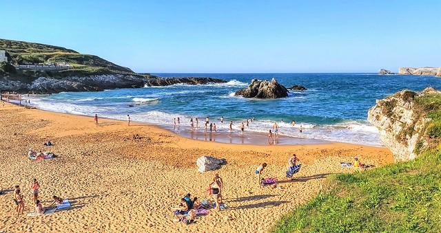 Playa de San Juan de la Canal.  Cantabria