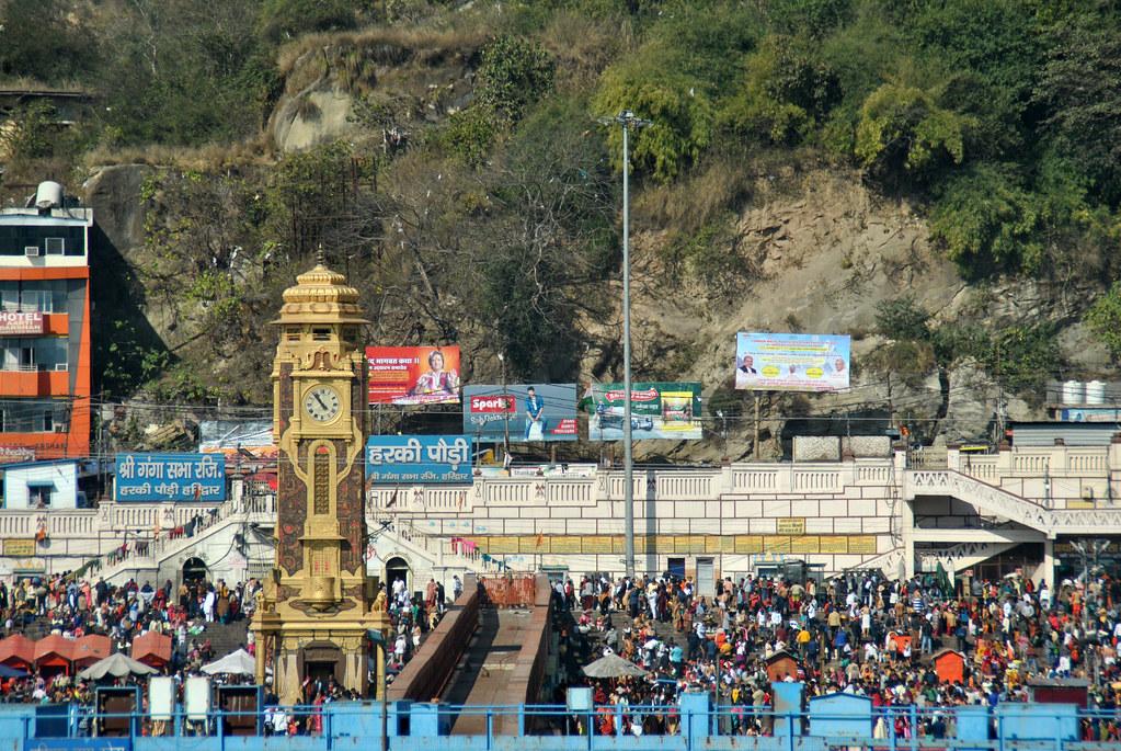 Menara Jam Birla dan Ghat Har ki Pauri, Haridwar