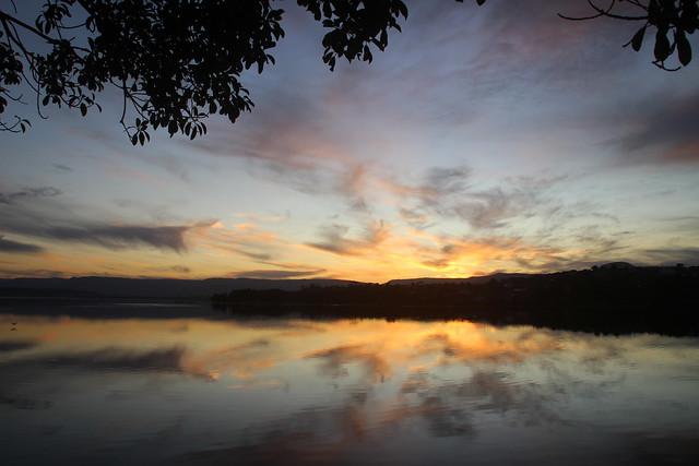 Sunset, Lake Illawarra