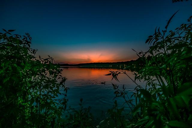 Sunset Dechsendorfer Weiher - 2914
