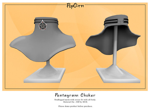 Pentagram Choker