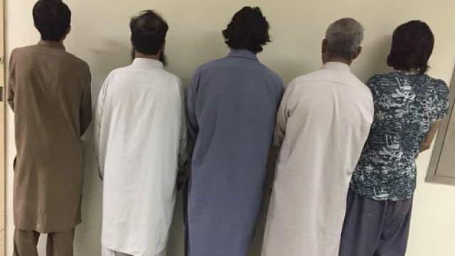 5705 A gang of 12 expatriates thieves was arrested in Riyadh