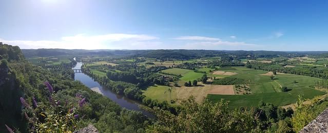 Panorama de Domme vallée de la Dordogne 20200707_183510