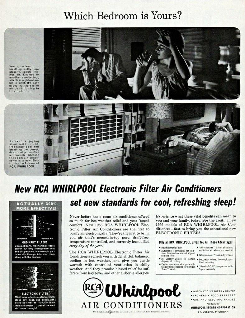 RCA Whirlpoll 1956