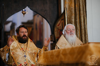 08.08.2020   Литургия в Хутынском монастыре