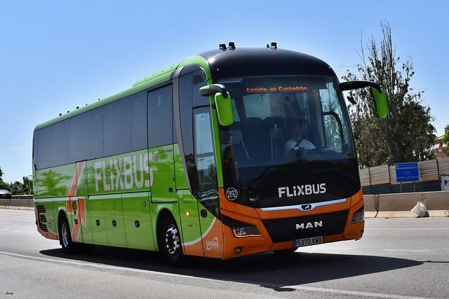 Man Lion,s Coach 2892 Flixbus Socitransa
