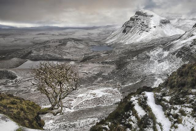Snowstorm on Skye