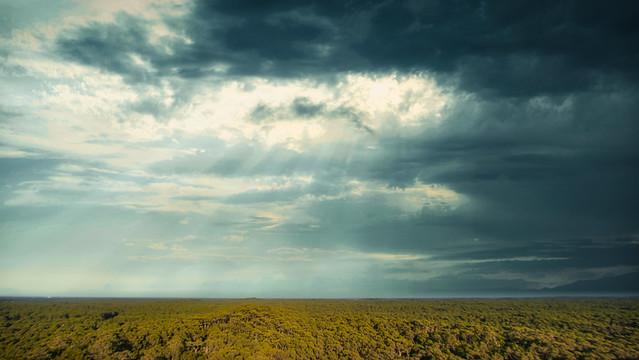 Thunderstorm under the Dune du Pilat