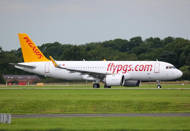 Pegasus Airlines Airbus A320-251N TC-NBV