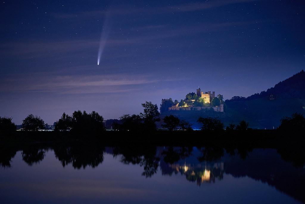 Komet Neowise über Ortenberg