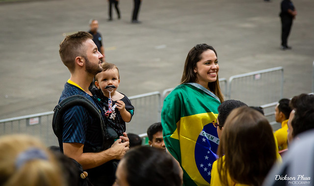 Football supporters of Brazil