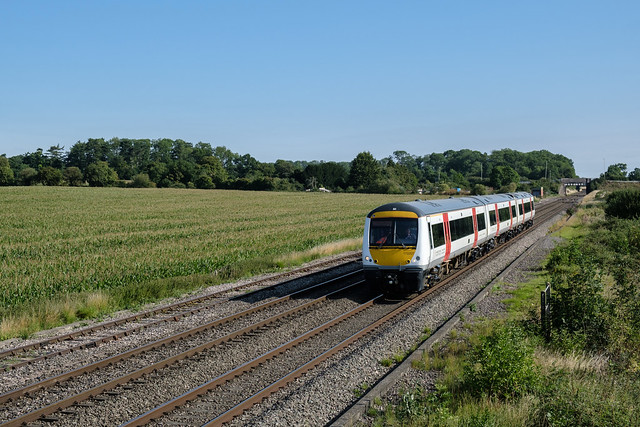 TfW's 170 207 on a stock move from Barton Under Needwood to Cardiff Canton Sidings
