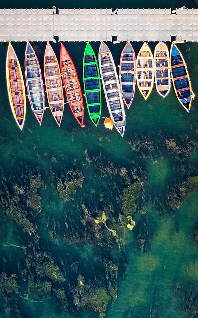 Los colores y el agua.