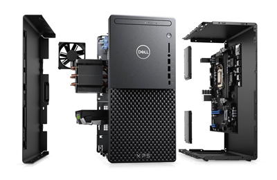 The new Dell Desktop exploded.