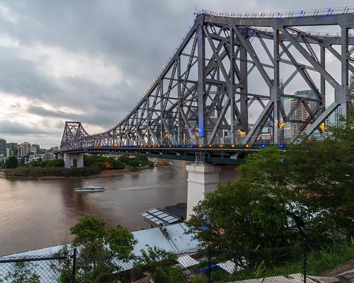 storybridge bridge river brisbaneriver skyline view vista skyscraper tower reflection cbd brisbanecbd brisbane queensland qld australia nikon d500 nikond500