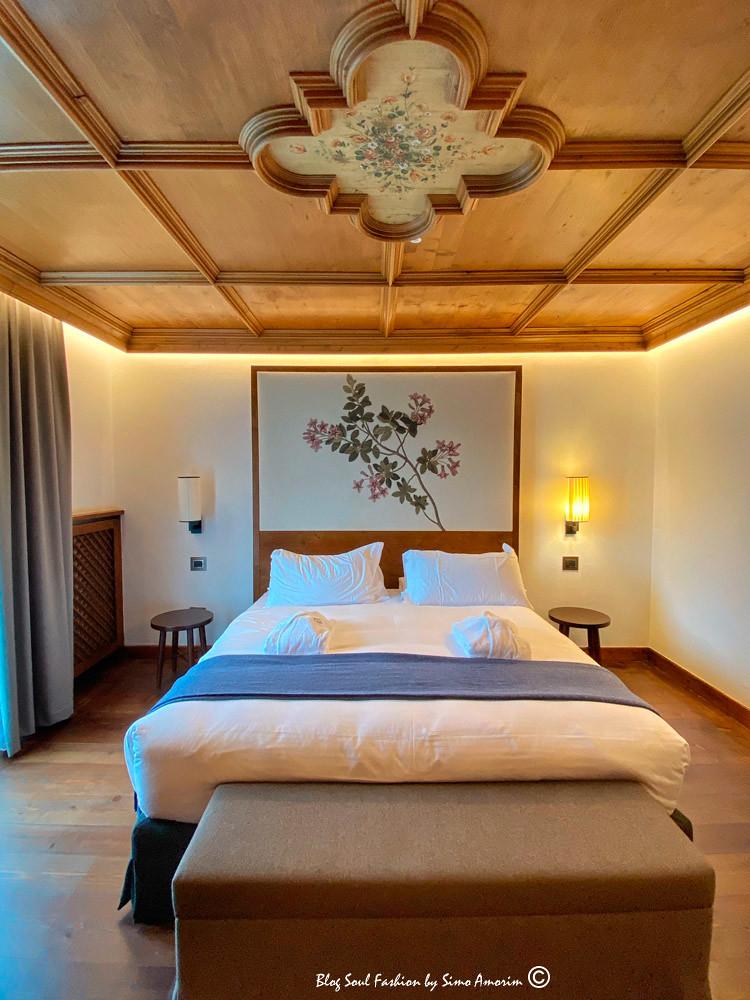 Detalhes da nossa linda suíte no Hotel Faloria. Puro charme!