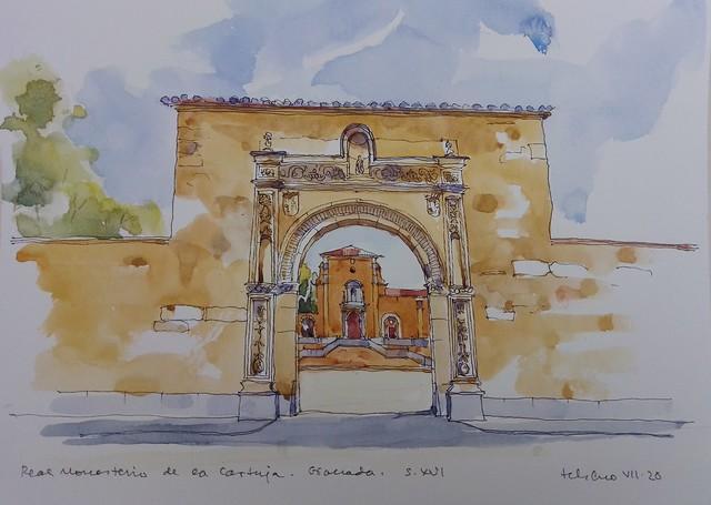 Real Monasterio de la Cartuja. s XVI. Granada