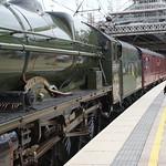 46115. Scots Guardsman heads the 1Z87 at Preston Station