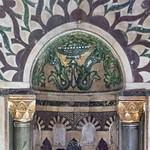 Damascus Madrasa al-Zahiriye 1277 & Mausoleum of Baybars I 1260-77 Mamluk Mausoleum of Baybars I Mihrab Conch(1)