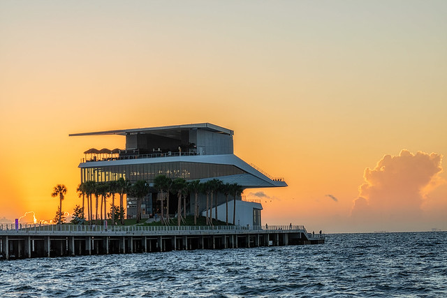 Awaiting the Sun at the St Pete Pier 4
