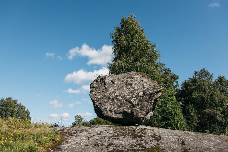 Onkiniemen liikkuva kivi